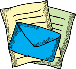 envelope with papers